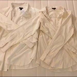 NWT Bundle of 2 Ann Taylor Dress Shirts